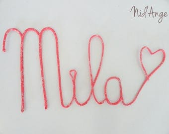 Liberty name for girls (Decoration) to order