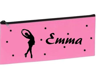 Personalized with name pink skating school Kit