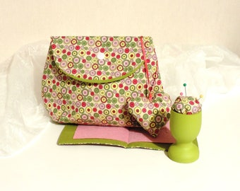 Sewing Kit and coordinating accessories. hand made