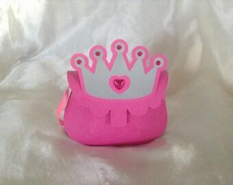 Princess birthday candy box