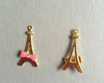 Eiffel Tower: knot ROSE gold.