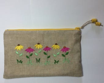 EMBROIDERED SPRING FLOWERS KIT