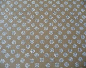 Fabric EZOL - Collection Japan (ocher - white)