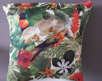 "Pillow cover ""tropics"" 40x40cm"