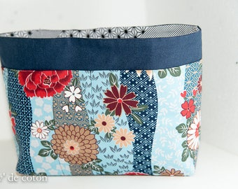 Bag Organizer fabric blossoms