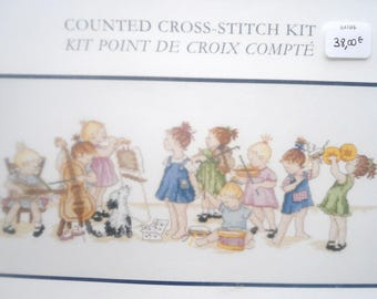 "DMC ""Conductor"" counted cross stitch Kit"