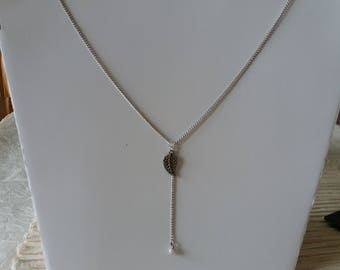 collier chaînette mi-long