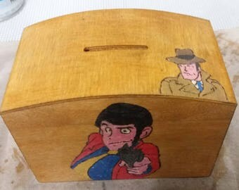 Baby Piggy bank. Lupin