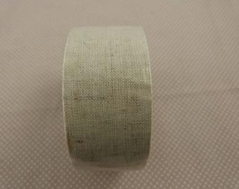 Wide ribbon, linen tape
