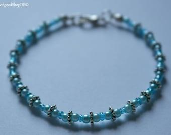 "Bracelet ""End of the blue Party"""