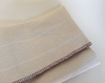 Monk's Cloth 24x23 inch piece for Rug Hooking - Serged Edges, fits 18x18 inch frame