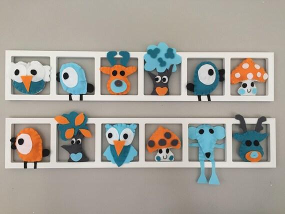 D coration murale de chambre enfant et b b cadre mural for Decoration murale chambre enfant