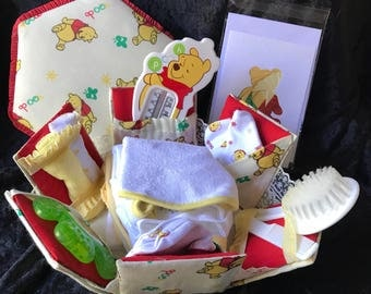 Pooh Bear Welcome Baby Box