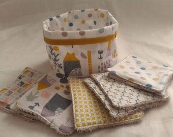 machine washable and empty wipes reversible pocket with Scandinavian style