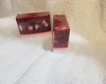 Candy Cane Soap