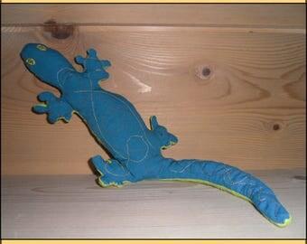 "PLUSH ""Gecko Turquoise"""