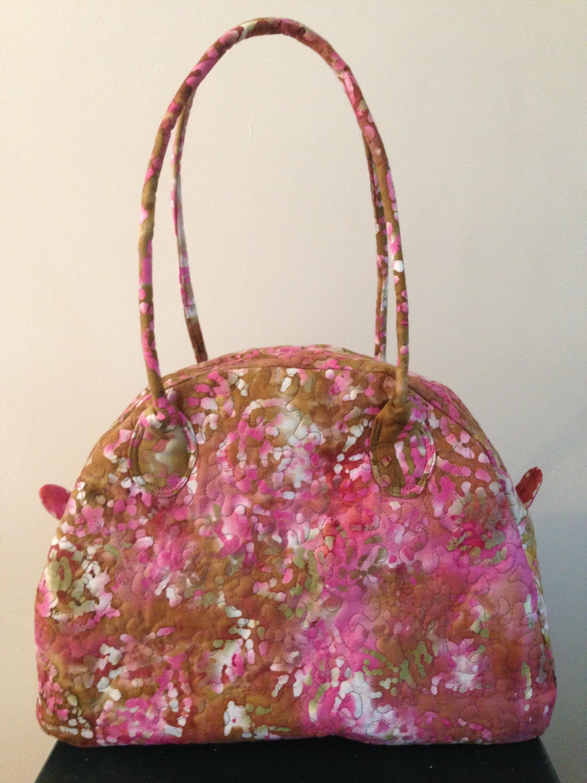 Pink Batik Print Handbag Travel Bag E10190947032489179m 3500 Brown