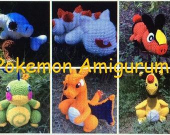 Inspired Pokemon Amigurumi