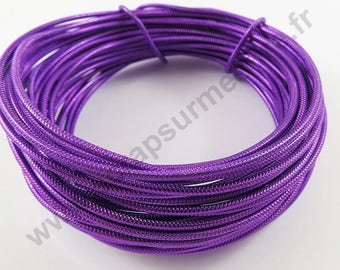 Aluminum wire Ø 2 mm - purple - x 10 m