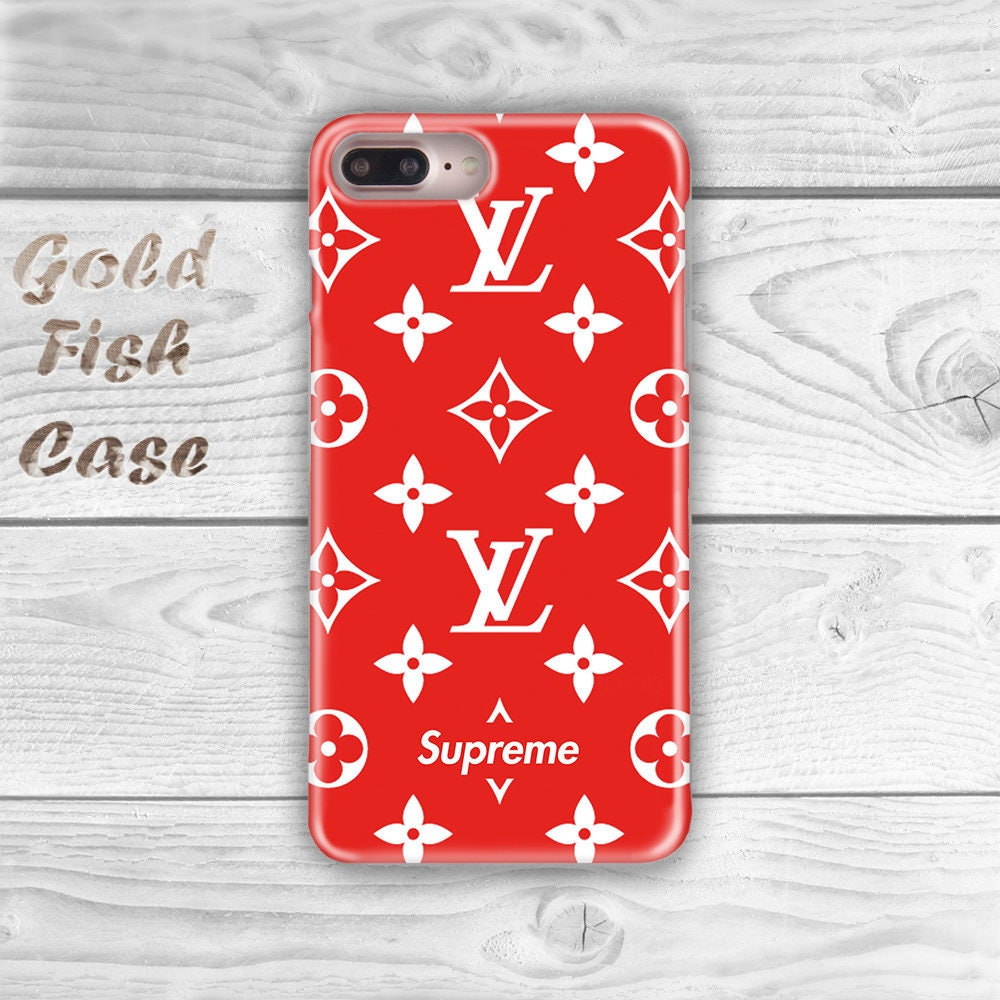 supreme louis vuitton iphone 7 plus case iphone 6s case. Black Bedroom Furniture Sets. Home Design Ideas