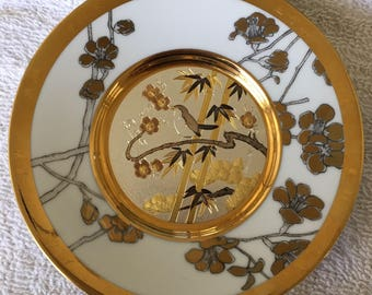 "Vintage Eternal Wishes of Good Fortune Friendship"" Plate The Hamilton Collection"