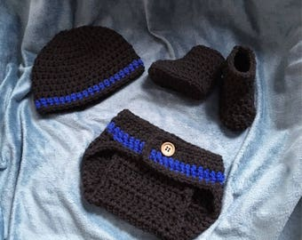 Newborn Thin Blue Line set