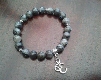 Labradorite Bracelet - 8 mm beads