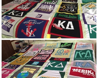 Custom Tshirt Quilts