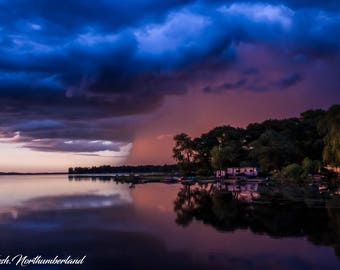 Landscape Photography Weather Storm Cloud Print