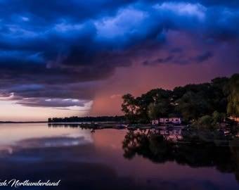 Landscape Photography Weather Storm Cloud Print