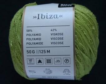 Rico Design Ibiza Fabre 003 green wire ball