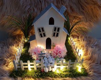 Fairy House Night Light Ornament