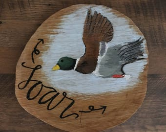 Duck: Soar Sign