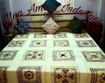 Embroidery cotton velvet