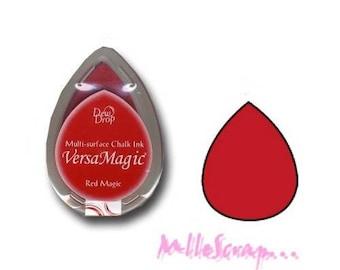 Ink Versa Magic Red Magic of Tsukineko scrapbooking card making *.
