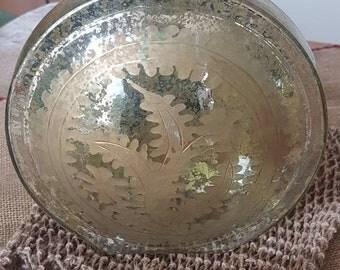 Vintage Large Decorative Glass Vase!