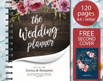 Wedding Planner Printable, Wedding Planning Book, Printable Wedding Planner, wedding organizer , Engagement Gift Ideas, PDF Download
