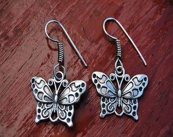 Hobbit Butterfly Ear Ring