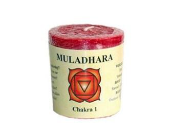 Candle • Chakra Muladhara root