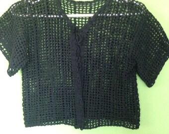 Crochet vest for women