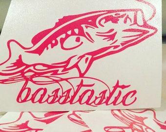 basstastic 5x4 in pink