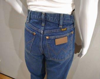 Vintage Wrangler Jeans/waist 28 / mom jeans, boyfriend jeans, high waisted, straight leg
