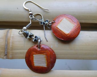 Dali bamboo earrings