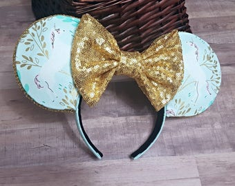 Unicorn and Gold inspired Ears