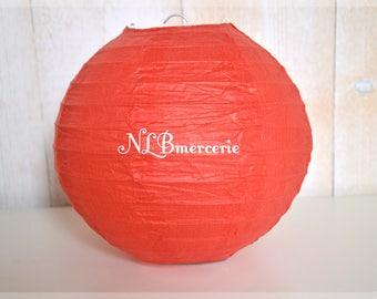 Chinese Lantern red diameter 35 cm rice paper lantern, Chinese ball