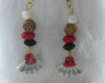 """""""A little bit of Japan"""", earrings"""