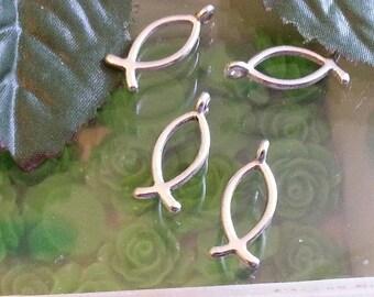 5 Tibetan pendants, alloy pendants poison, antique silver, 20 x 8 mm, hole: 2mm