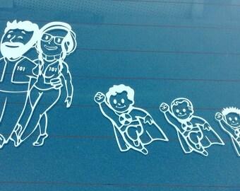 Custom Fallout Family Decal