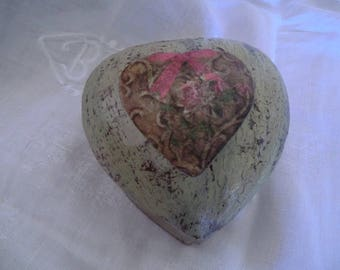 "Small jewelry box ""heart"""