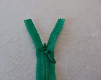 Invisible zipper closure, green jungle, 60 cm (Y-540)